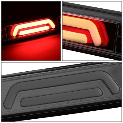 2011 Ford F450 Super Duty Smoked Tube LED Third Brake Light Cargo Light