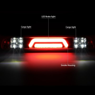 Mazda B2500 1994-2010 Smoked Tube LED Third Brake Light Cargo Light