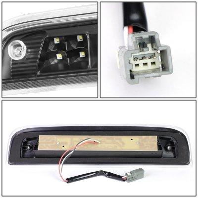 Chevy Silverado 2014-2018 Black Tube LED Third Brake Light Cargo Light