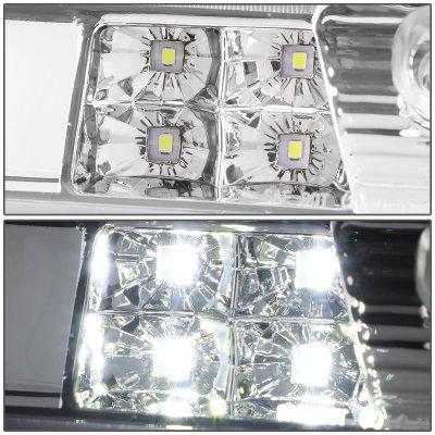 Chevy Silverado 2014-2018 Clear Tube LED Third Brake Light Cargo Light