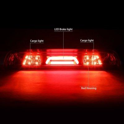 Chevy Silverado 2014-2018 Red Tube LED Third Brake Light Cargo Light