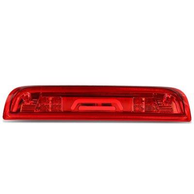 Chevy Silverado 2500HD 2015-2017 Red Tube LED Third Brake Light Cargo Light