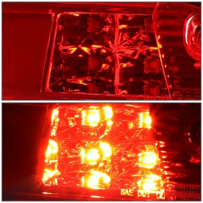 Chevy Silverado 2014-2018 Red Tube LED Third Brake Light Cargo Light