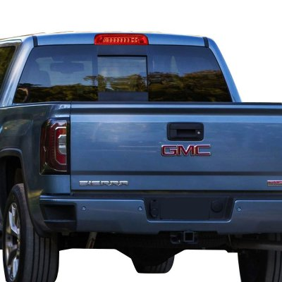 GMC Sierra 2014-2017 Red Full LED Third Brake Light Cargo Light
