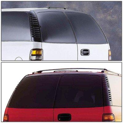Chevy S10 Blazer 2-Door 1994-2005 Black LED Third Brake Light