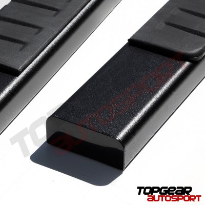 2009 Nissan Frontier King Cab Running Boards Black 5 Inches