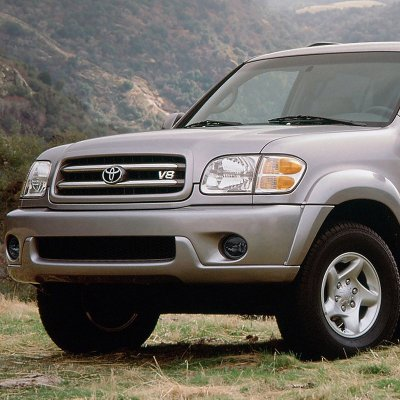 Toyota Tundra 2000-2006 Smoked Fog Lights