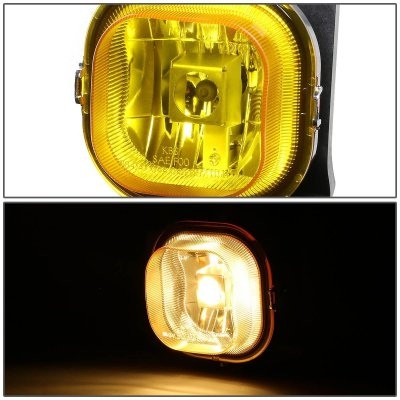 Ford F250 Super Duty 1999-2004 Yellow Fog Lights