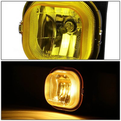 Ford F250 Super Duty 2005-2007 Yellow Fog Lights