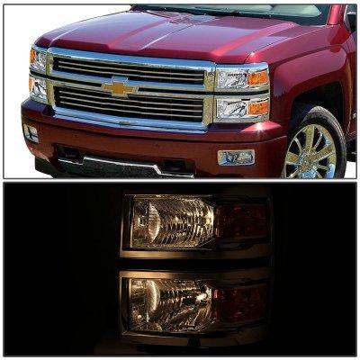 Chevy Silverado 1500 2014-2015 Headlights