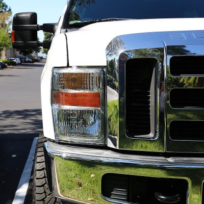 2008 Ford F250 Super Duty Headlights