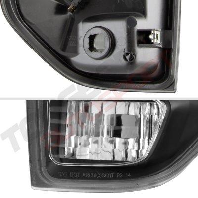 Toyota Tundra 2014-2020 Black LED Tail Lights Tube