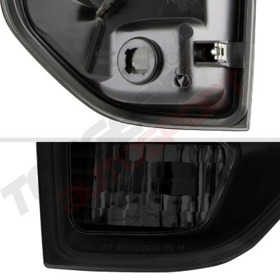 Toyota Tundra 2014-2021 Black Smoked LED Tail Lights Tube