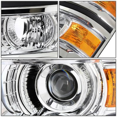 Chevy Silverado 1500 2014-2015 Projector Headlights