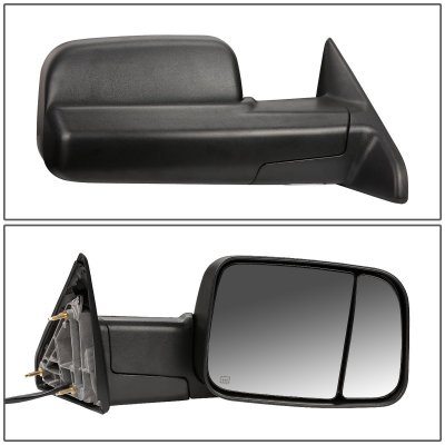 Dodge Ram 1500 2013-2018 Power Heated Towing Mirrors