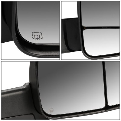 Dodge Ram 1500 2013 2018 Power Heated Towing Mirrors