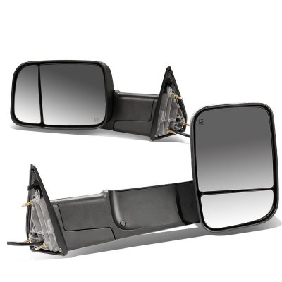 Dodge Ram 2500 2013 2018 Power Heated Towing Mirrors