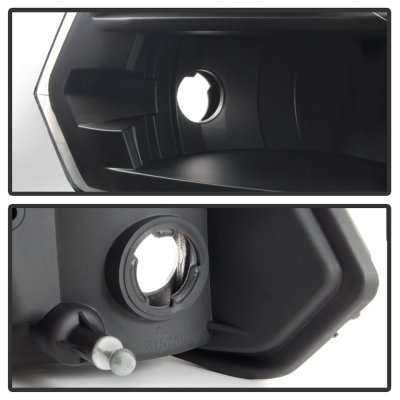 Dodge Ram 2009-2018 Black Quad Headlights