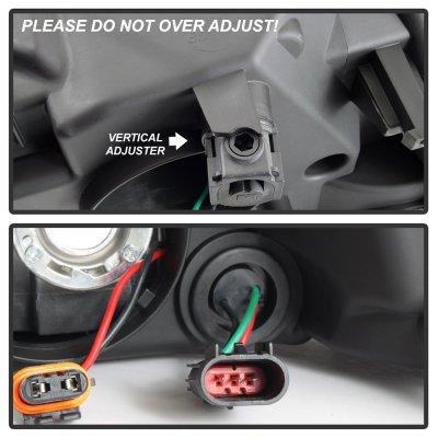 Dodge Ram 2009-2018 Quad Headlights