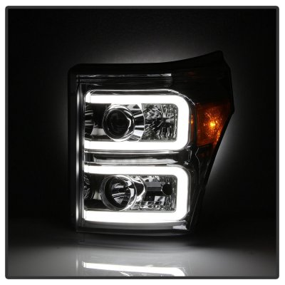 Ford F250 Super Duty 2011-2016 LED DRL Projector Headlights