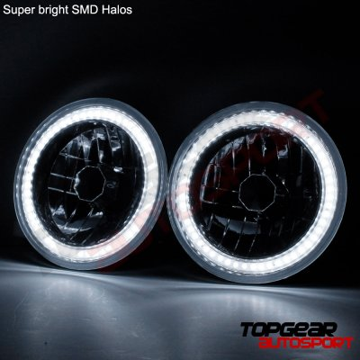 1975 Buick Century SMD Halo LED Headlights Kit