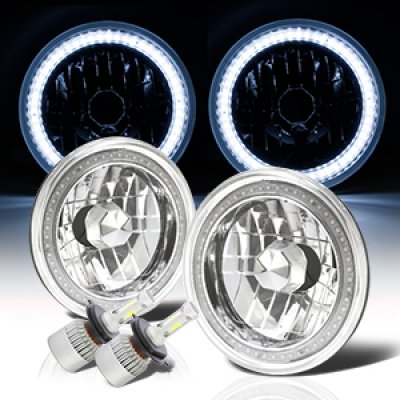 Chevy C10 Pickup 1967-1979 SMD Halo LED Headlights Kit
