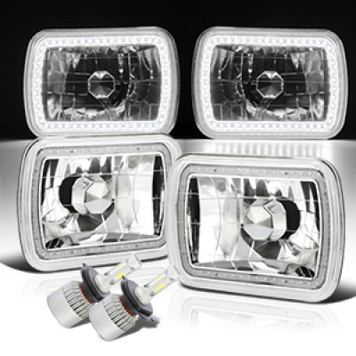 Chevy Tahoe 1995-1999 SMD Halo LED Headlights Kit