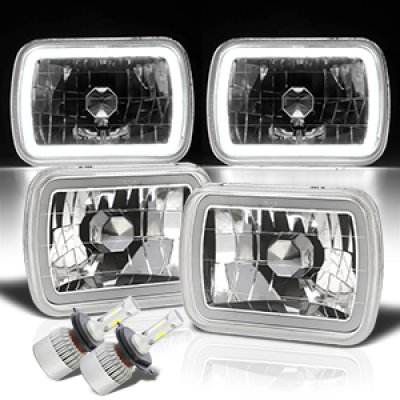 Chevy Tahoe 1995-1999 Halo Tube LED Headlights Kit