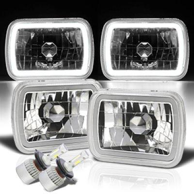 Dodge Ram 250 1981-1993 Halo Tube LED Headlights Kit