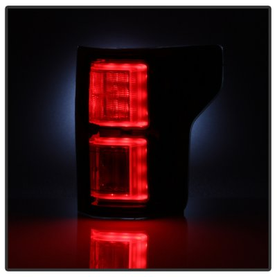 Ford F150 2015-2017 Smoked LED Tail Lights