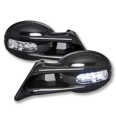 BMW 3 Series Coupe 2000-2005 Black Manual Side Mirror