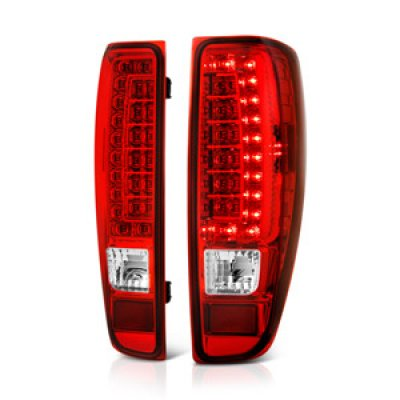 Chevy Colorado 2004 2017 Red And Clear Led Tail Lights A141evtn109 Topgearautosport