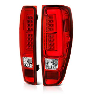 Chevy Colorado 2004 2017 Red And Clear Led Tail Lights A141m5ed109 Topgearautosport