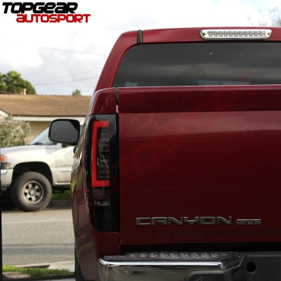 Chevy Colorado 2004 2017 Black Smoke Led Tail Lights