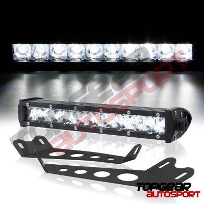 Jeep Wrangler JK 2007-2015 Hood CREE LED Light Bar with Mounting Brackets
