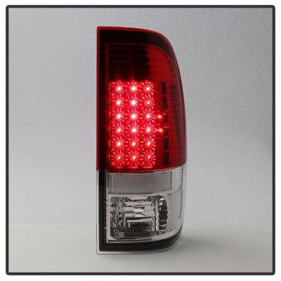 Ford F250 Super Duty 2008-2016 LED Tail Lights Red Clear