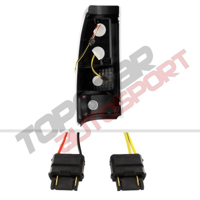 Chevy Silverado 2500 2003-2004 LED Tail Lights Tube