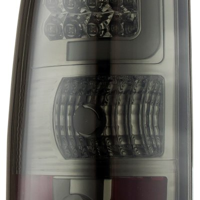 Chevy Silverado 2003-2006 Smoked LED Tail Lights Tube