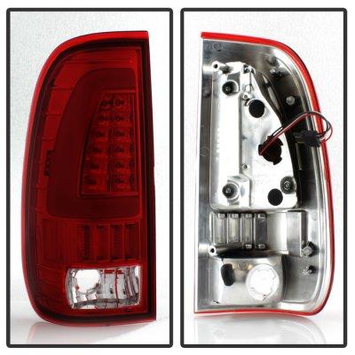 Ford F150 1997-2003 Tube LED Tail Lights
