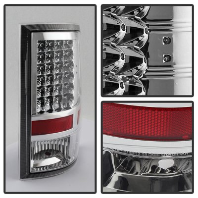 Dodge Ram 2009-2016 Chrome LED Tail Lights