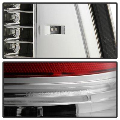 Dodge Ram 2009-2014 Chrome C-Custom Full LED Tail Lights