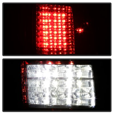 Dodge Ram 2009-2014 C-Custom Full LED Tail Lights