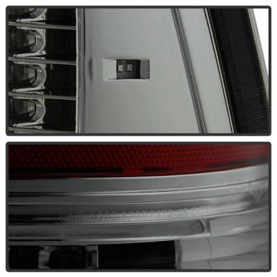 Dodge Ram 3500 2010-2014 Smoked C-Custom Full LED Tail Lights