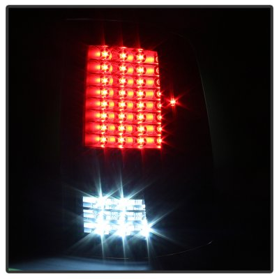 Dodge Ram 2500 2010-2018 Black Full LED Tail Lights