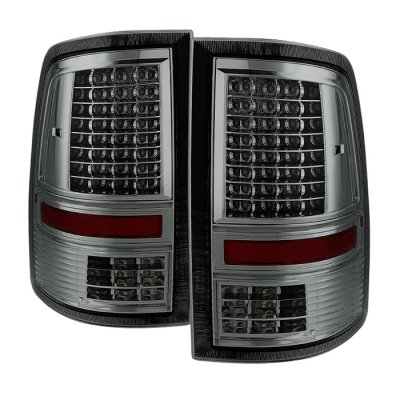 Dodge Ram 3500 2010-2018 Smoked Full LED Tail Lights