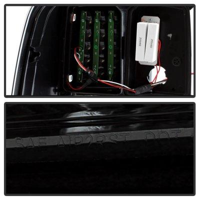 Dodge Ram 2009-2018 Smoked LED Tail Lights