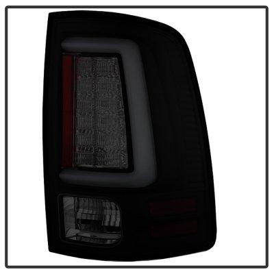 Dodge Ram 2009-2018 Smoked Tube LED Tail Lights
