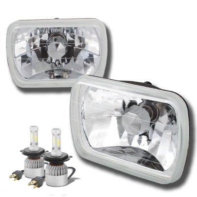 Jeep Wrangler YJ 1987-1995 LED Headlights Conversion Kit