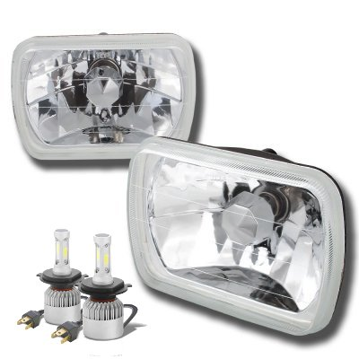 1991 GMC Safari LED Headlights Conversion Kit