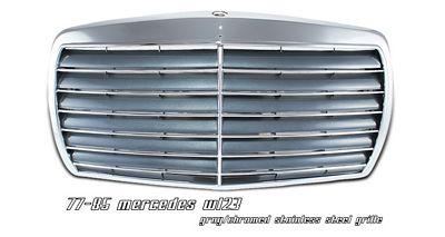 Mercedes Benz E Class 1977-1985 Chrome Avantgarde Grille